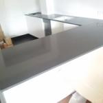 blaty kuchenne z konglomeratu Crystal Anthracite