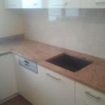 blaty kuchenne z granitu Sahara Gold
